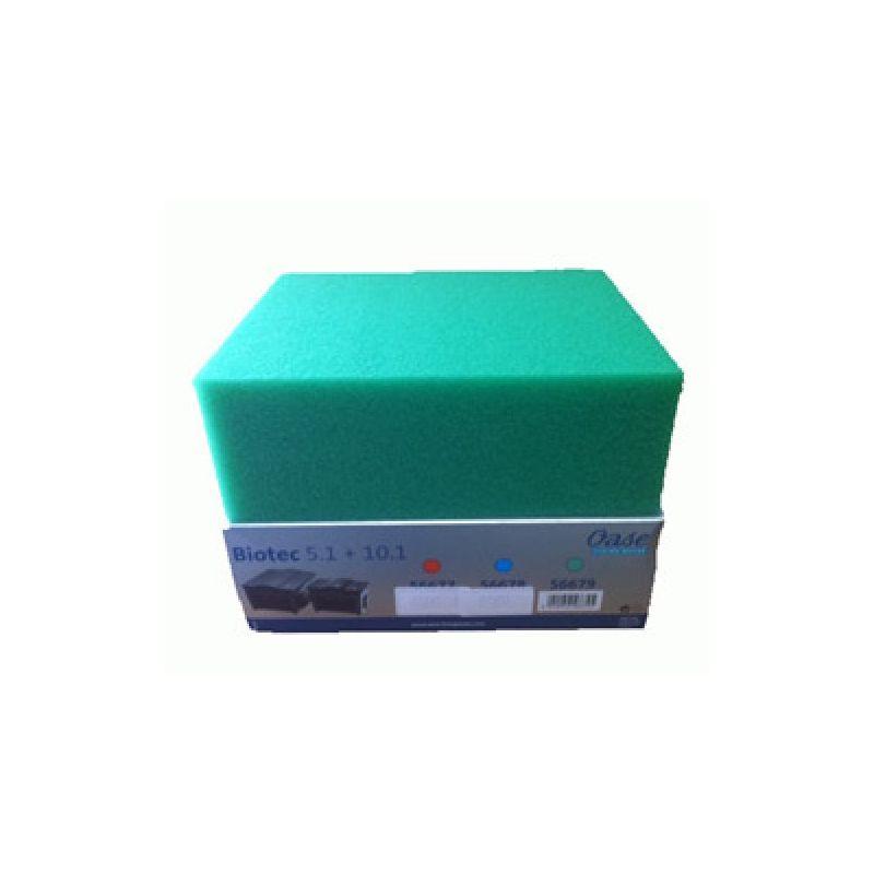 Mousse filtrante verte BioSmart 18000 / 20000 / 30000 / 36000 et BioTec 5.1 / 10.1