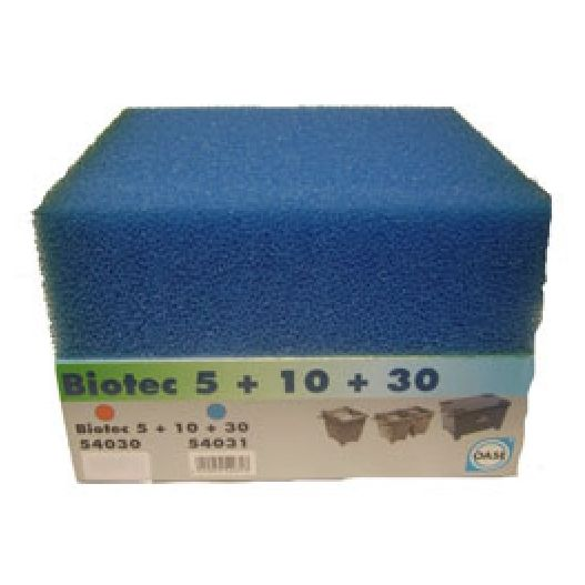 Mousse filtrante bleue BioSmart 5000 / 7000 / 8000 / 14000 / 16000 Oase