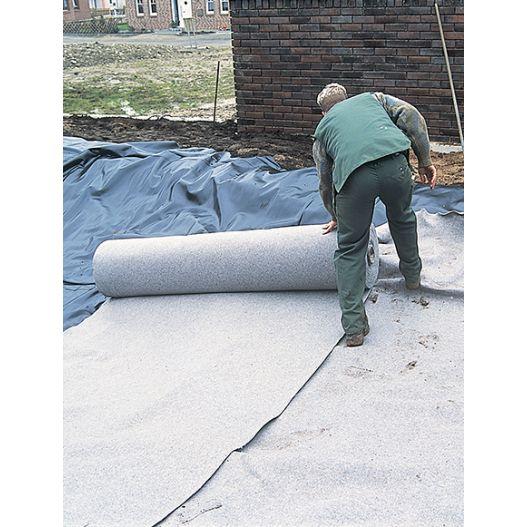 Feutre de bassin 400g/m2 anti-poinçonnement rouleau 150m2