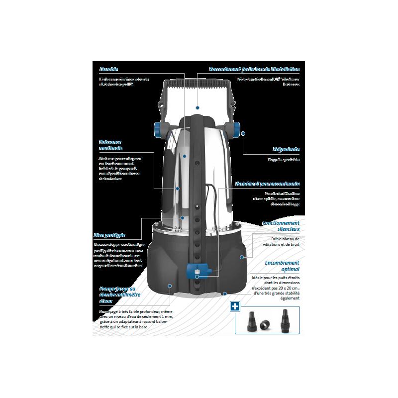 Pompe de relevage ProMax ClearDrain 11000