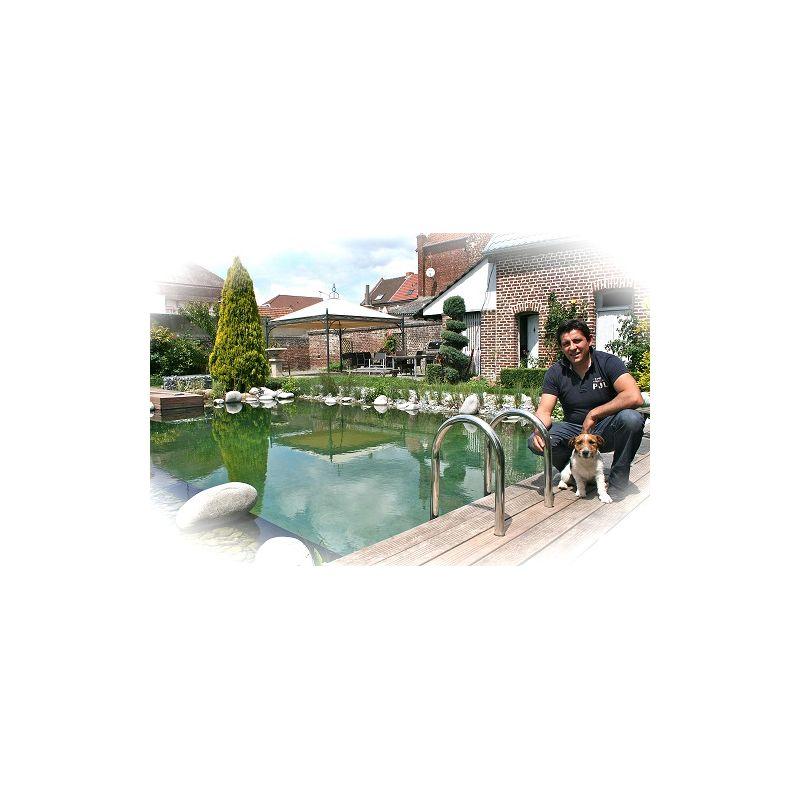 Bâche bassin EPDM 1,20mm Baignade + Feutre 400g