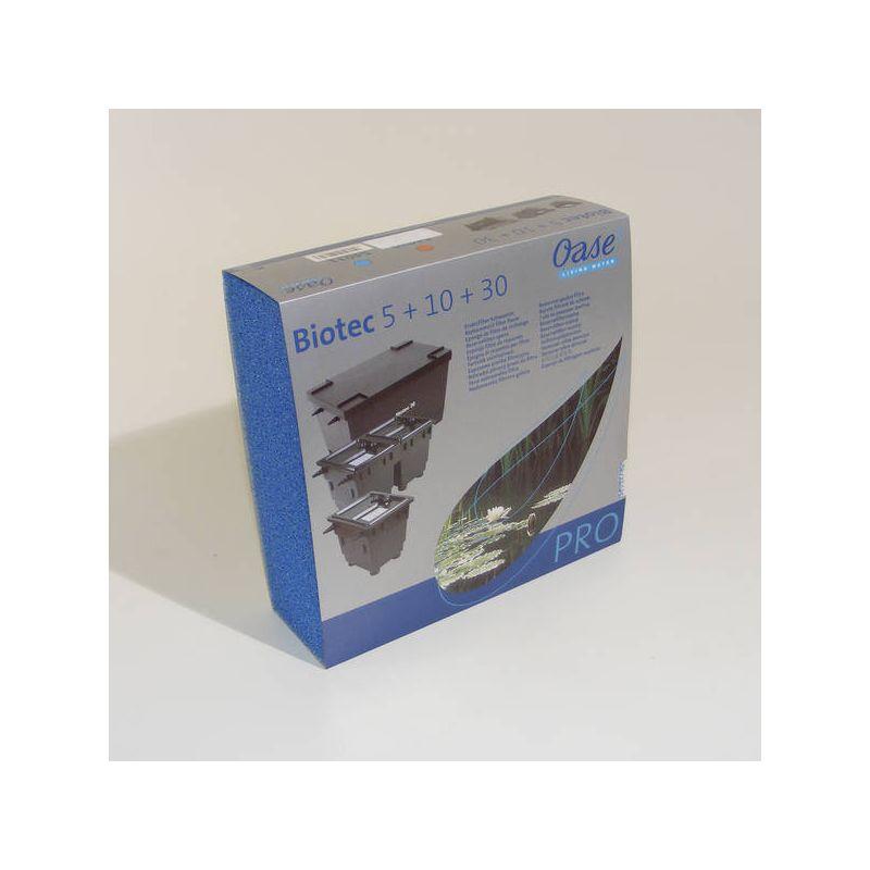 Mousse filtrante bleue pour BioTec 5 / 10 / 30 Oase