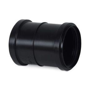 Raccord à lèvre noir DN75