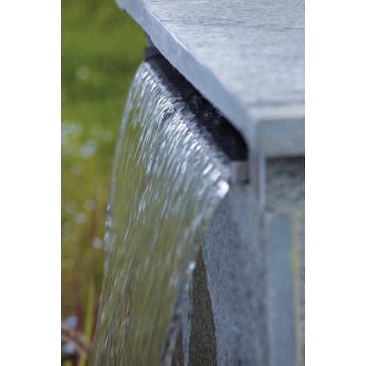 Lame d'eau en acier inox Waterfall 30 cm OASE