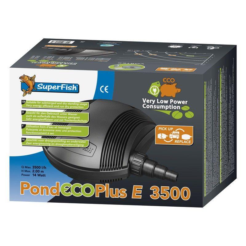 Pompe de bassin PondEco Plus E3500 Superfish