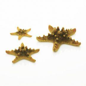 biOrb Set de 3 étoiles de mer jaunes