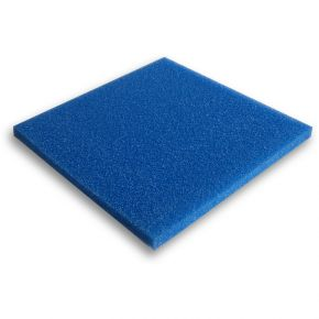 Mousse filtrante bleue 100x100x2cm Grossière
