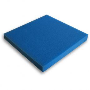 Mousse filtrante bleue 100x100x5cm Fine