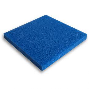 Mousse filtrante bleue 100x100x5cm Grossière