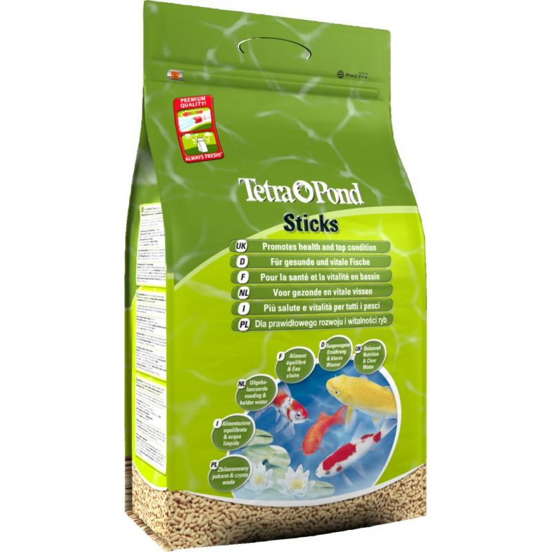 Nourriture poisson Tetra Pond Sticks 40L