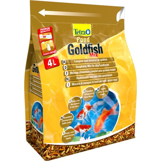 Tetra Pond Gold Mix 4L