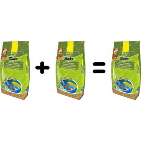 Nourriture poisson Tetra Pond Sticks 40L 2 achetés 3ème offert