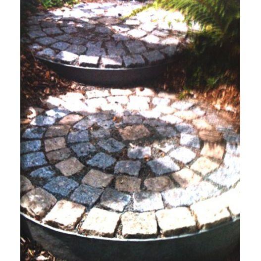 Bordure jardin terrasse