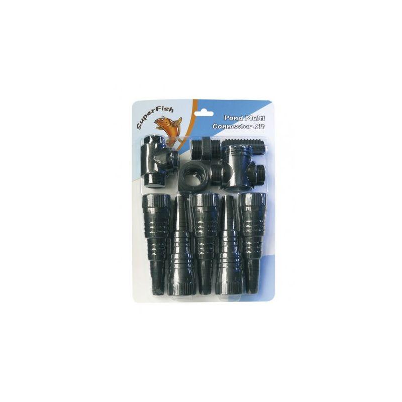 Multi connecteurs Kit 20/25/32/40mm Superfish