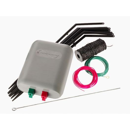 Clôture électrique anti-hérons