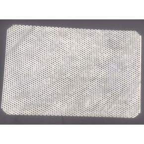 Grille galvanisée pour filtre de bassin