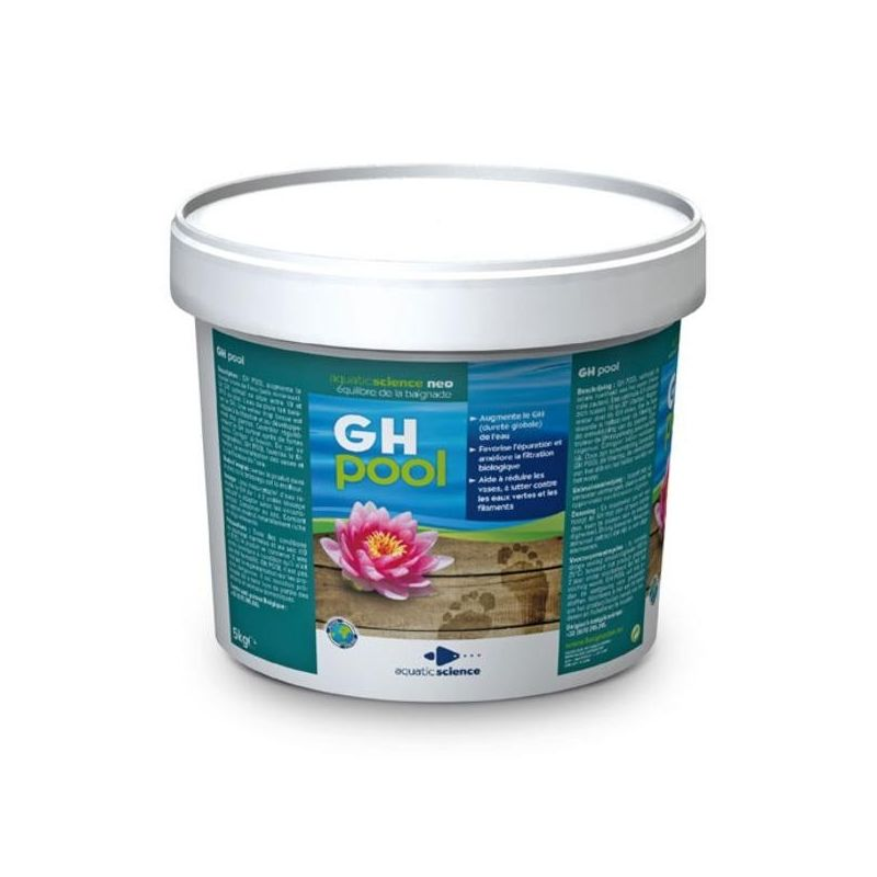 GH Pool 15 Kg pour bassin de baignade biologique 50m3