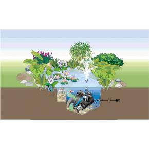 Filtration bassin Filtral UVC 1500 Oase 3 produits en 1