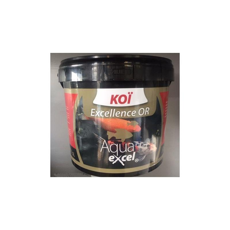 Nourriture Carpe Koi Excellence OR 5L Aqua Excel