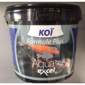 Nourriture Carpe Koi Formule plus 10L Aqua Excel