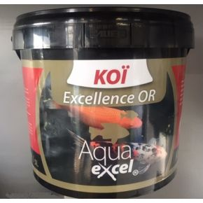 Nourriture Carpe Koi Excellence OR 10L Aqua Excel