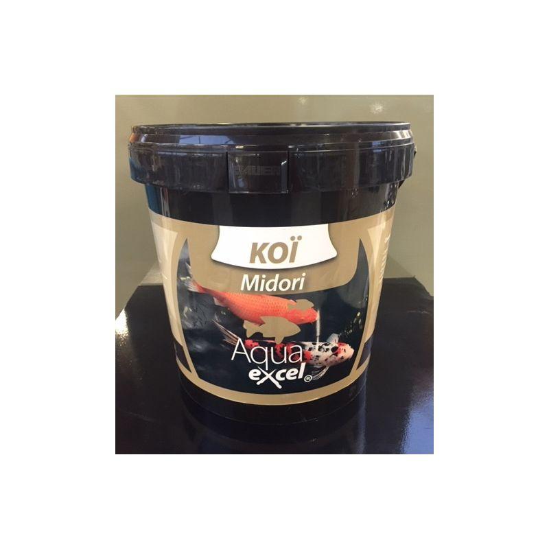 Nourriture Carpe Koi Midori 10L Aqua Excel