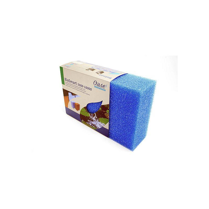 Mousse filtrante bleue BioSmart 5000 / 7000 / 8000 Oase