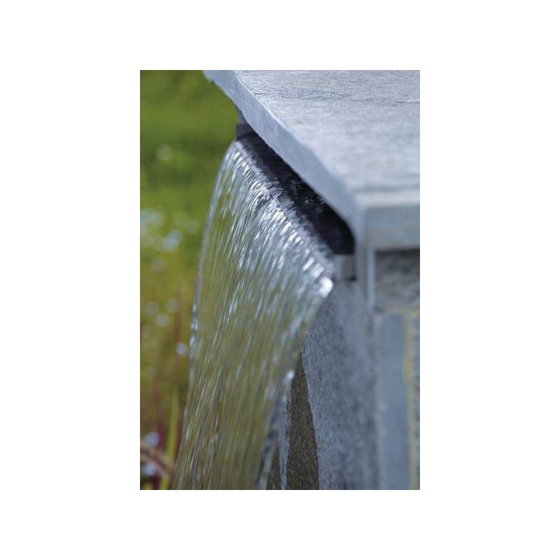 Lame d'eau en acier inox Waterfall XL 60 cm OASE