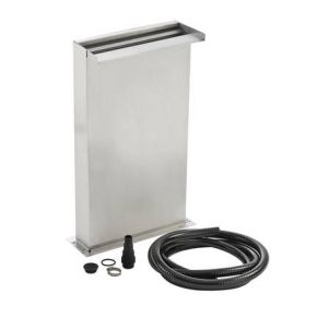 Kit Pied Lame d'eau Waterfall Set 30 cm inox OASE