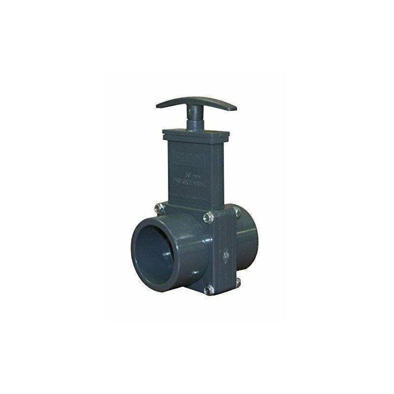 Vanne PVC guillotine diamètre 63 mm