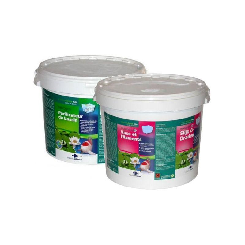Pack Bactogen+Biobooster 200m3