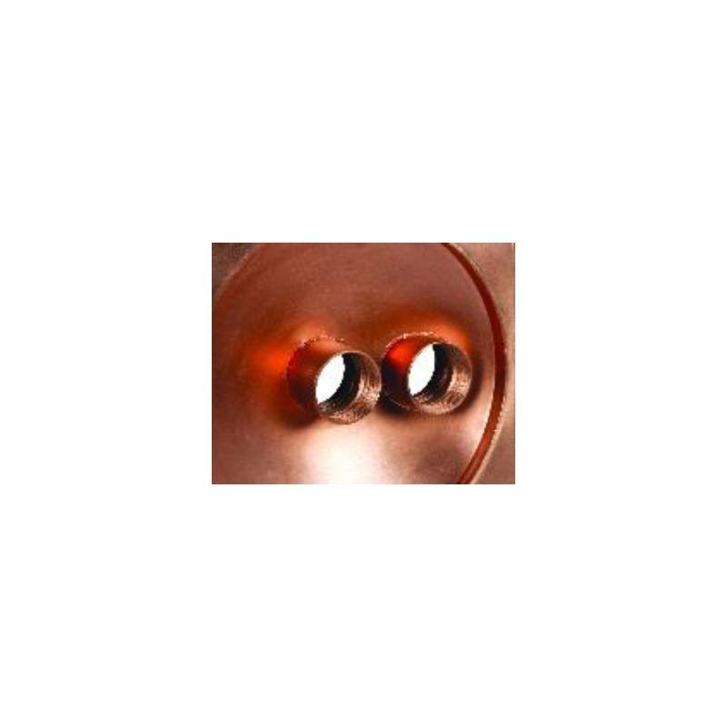 Bol cuivre Carré 50