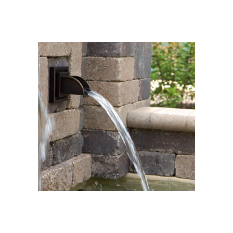 Déversoir fontaine Ellipse cuivre