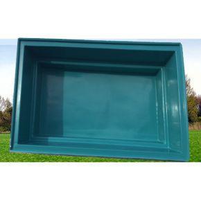 Bassin Rectangulaire 340 x 215 x 90 cm 5000L Bleu