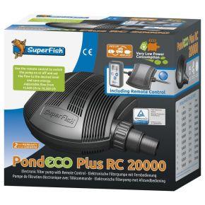 Pompe de bassin PondEco Plus 20000 RC Superfish