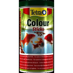 Nourriture poisson Tetra Pond Colour Sticks 1L
