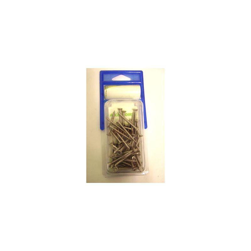 Vis inox 4*40 (200 pièces)