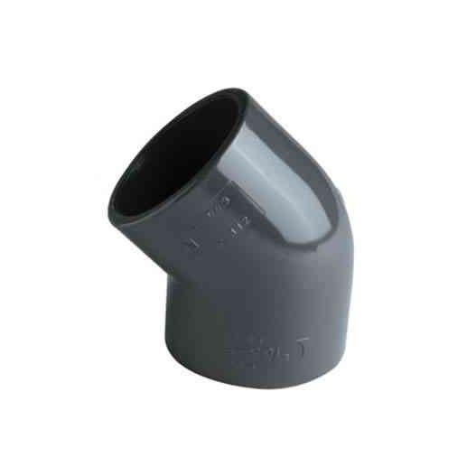 Coude 45° en PVC, Diamétre 50 cm