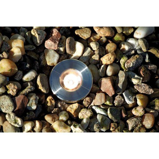 Projecteur exterieur ledLunaqua Maxi LED Set 3 Oase Design en acier inox