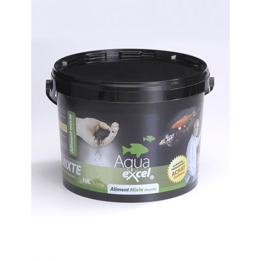 Nourriture poisson Mixte 5L Aqua Excel