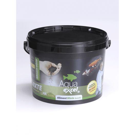 Nourriture poisson Mixte 10L Aqua Excel