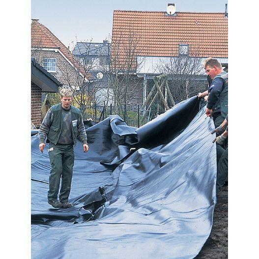 Bâche bassin PVC 6m x 5m 0,5mm Pontec