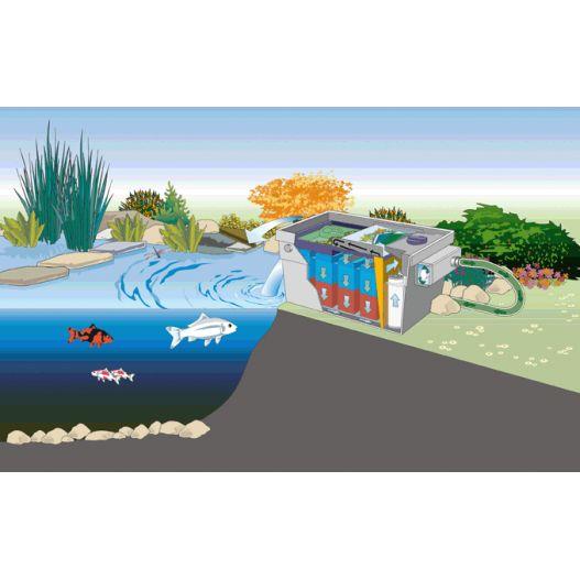 Filtre UV bassin Bitron C 55W Oase