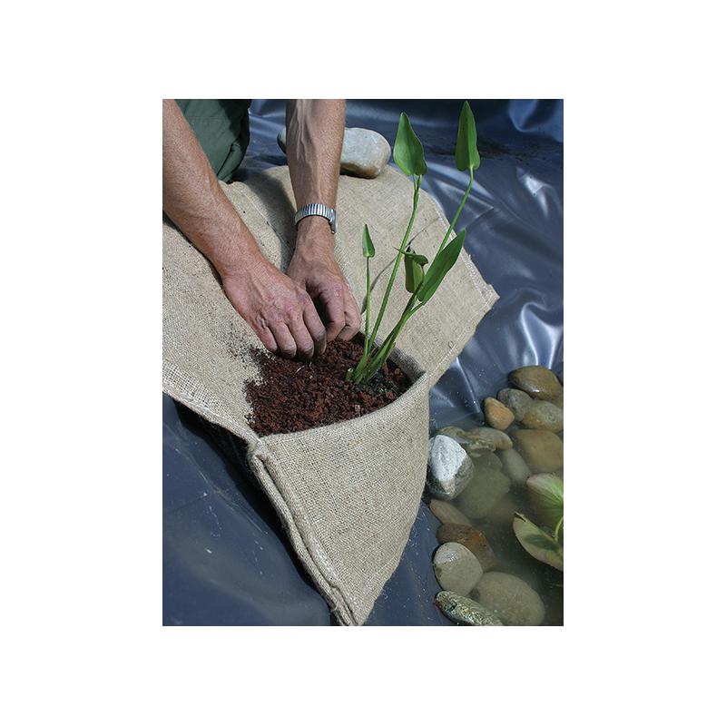 Sac de plantation pour plantes aquatiques en toile de jute Oase