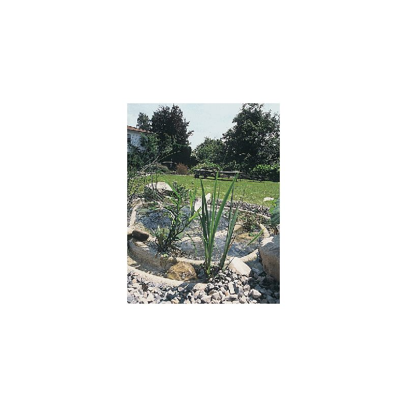 Bassin de jardin Préformé OASE Chiemsee Granit 2000L