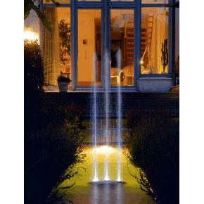 Pompe fontaine Water Trio Oase Fontaine 3 jets télécommandée