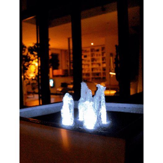 Eclairage jardin Lunaled 9 S Eclairage à LED innovant