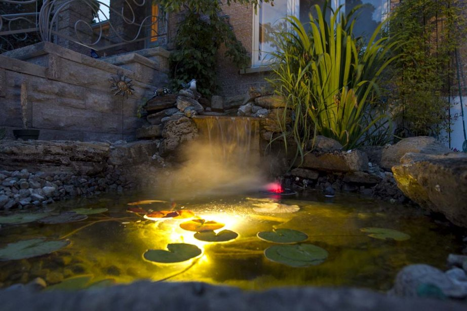 L'éclairage de votre bassin